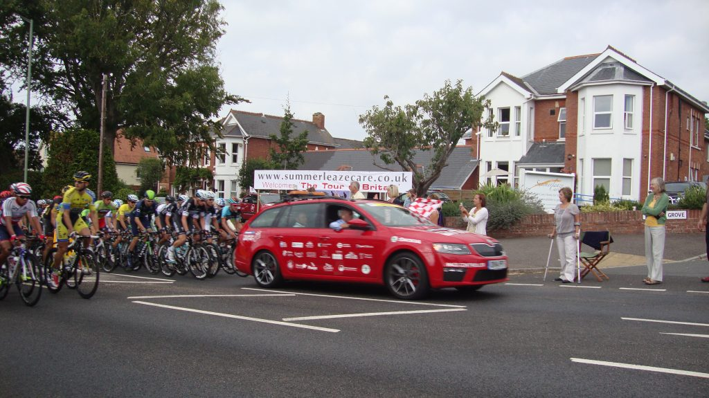 Tour of Britain in Exmouth